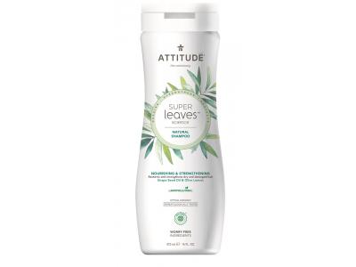 ATTITUDE Přírodní šampón Super leaves - vyživující pro suché a poškozené vlasy 473 ml