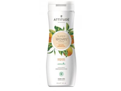 ATTITUDE Přírodní tělové mýdlo Super leaves s detoxikačním účinkem - pomerančové listy 473 ml