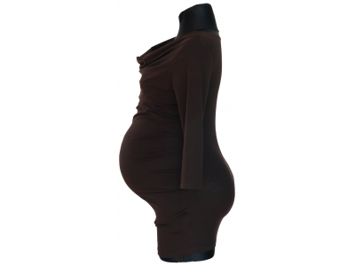 Mama Rosa Těhotenské a kojící tričko - Palisandr