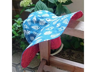 MAMA ROSA Dětský letní klobouček - Sea