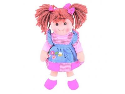 Bigjigs Toys Látková panenka Melody 34cm
