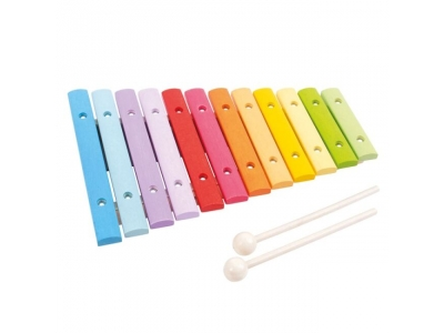 Bigjigs Toys Dřevěný xylofon