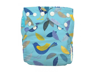 Charlie Banana Kalhotková plena AIO Organic - Twitter Birds