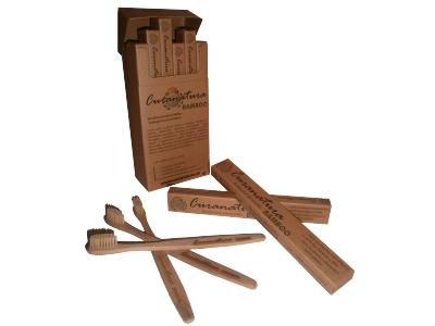 Curanatura Bambusový zubní kartáček - pro dospělé