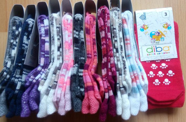 738ea7e9212 Diba Protiskluzové dětské ponožky (tenké) - vel. 3 (9-12m) - Eco Capart