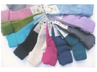Diba Vlněné dětské ponožky - vel. 1 (6-12m)