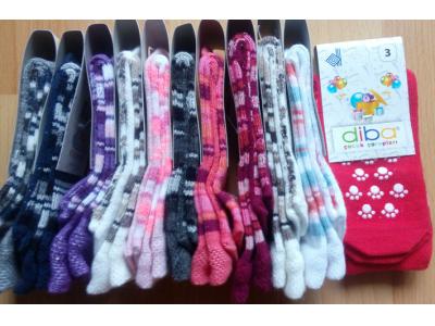 Diba Protiskluzové dětské ponožky (tenké) - vel. 3 (9-12m)