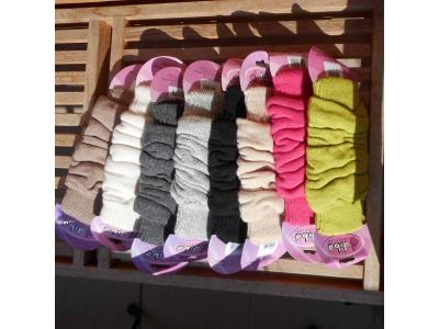Diba Vlněné návleky na nožičky - jednobarevné