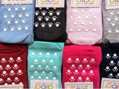 Diba Protiskluzové dětské ponožky (tenké) - vel. 1 (3-9m)