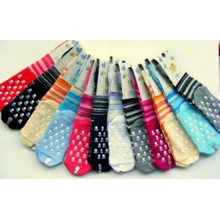9848cd60874 Diba Protiskluzové dětské ponožky pruhované (froté) - vel. 3 (12-24m ...