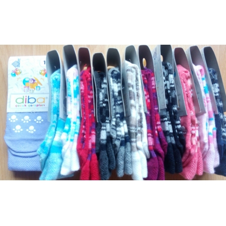 d1870891dc0 Diba Protiskluzové dětské ponožky (tenké) - vel. 1 (6-9m) - Eco Capart