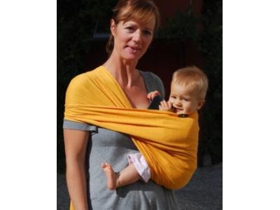 Didymos Prima - slunečně žlutý / šátek na nošení dětí  4,7m