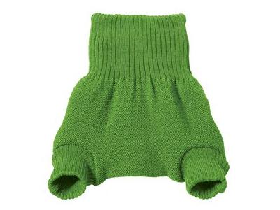 Disana Vlněné svrchní kalhotky - zelené