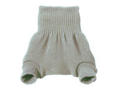 Disana Vlněné svrchní kalhotky - šedé