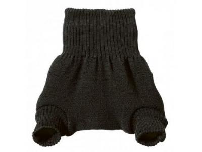Disana Vlněné svrchní kalhotky - antracit