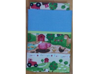 Eco Capart Dětské povlečení, 90x130 cm + 40x60 cm - Farma