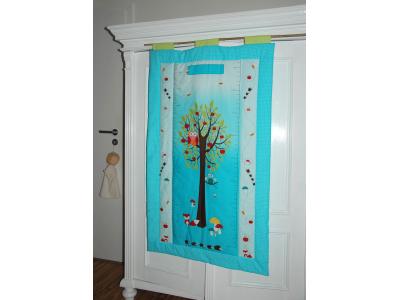Eco Capart Dětský textilní metr - Strom