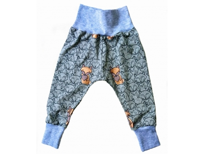 Eco Capart Dětské kalhoty - měděná liška