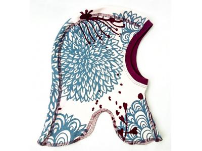 Eco Capart Dětská čepice kukla z BIO bavlny - Chrysanthema