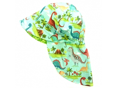 Eco Capart Legionářka dětská letní čepice - Dinosauria