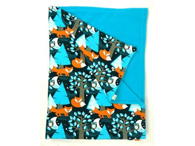 Eco Capart Dětská deka 70 x 100 cm - Nightfox