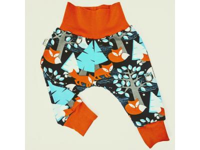 Eco Capart Dětské kalhoty z BIO bavlny - Nightfox