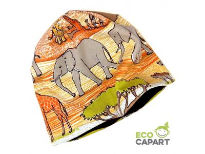 Eco Capart Dětská čepice MERINO - Safari