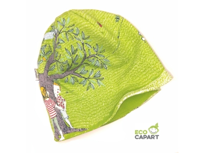 Eco Capart Dětská čepice MERINO - Rozmarné léto