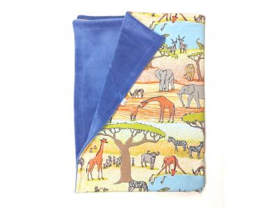 Eco Capart Dětská deka 70 x 100 cm - Safari