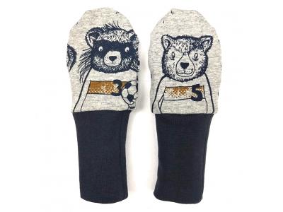 Eco Capart Kojenecké rukavičky bez palce MERINO - Mužstvo