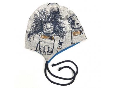 Eco Capart Čepička kojenecká MERINO - Mužstvo