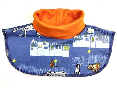 Eco Capart Dětský nákrčník z BIO bavlny - Nightly meeting