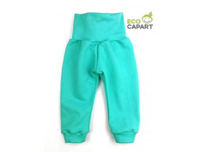 Eco Capart Dětské tepláky z BIO bavlny - Mint