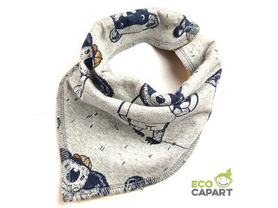 Eco Capart Nákrčník / slintáček s BIO bavlnou - Mužstvo