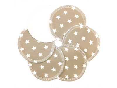 Eco Capart Kojící vložky do podprsenky Stay Dry 3 páry - Stars