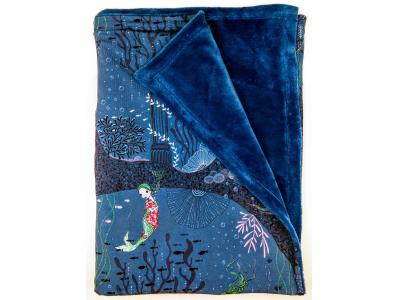 Eco Capart Dětská deka 70 x 100 cm - Mořské dno
