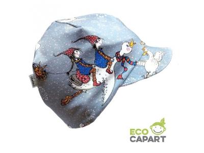 Eco Capart Dětská kšiltovka z BIO bavlny - Zpátky z jihu