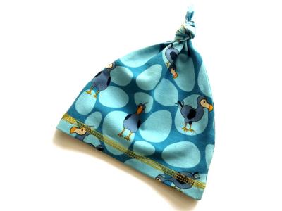 Eco Capart Čepička s uzlíkem - Dodo modrý