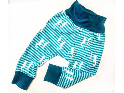 Eco Capart Dětské kalhoty - Mořský koník