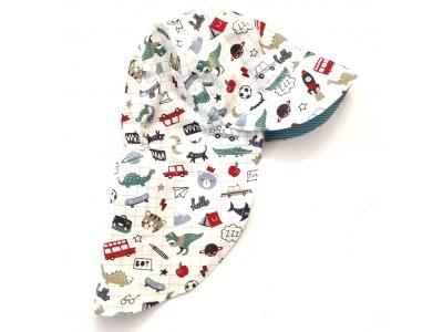 Eco Capart Legionářka dětská letní čepice - Klučičí věci