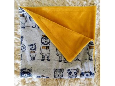 Eco Capart Dětská deka Organic 70 x 100 cm - Mužstvo