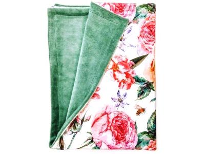 Eco Capart Dětská deka Organic 70 x 100 cm - Bliss Bouquet