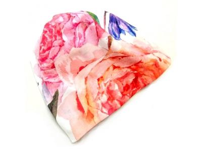 Eco Capart Dětská čepice MERINO - Bliss Bouquet