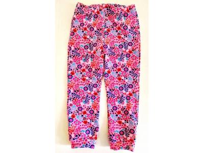 Eco Capart Dětské kalhoty / legíny - Květinky