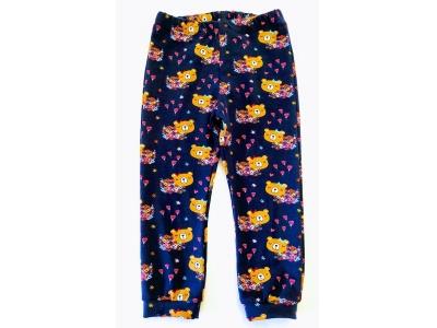 Eco Capart Dětské kalhoty / legíny - Medvědi na louce