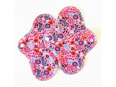 Eco Capart Dámské hygienické vložky 2 ks MINI - Květinky