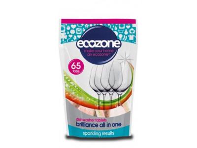 Ecozone Tablety do myčky vše v jednom - 65 tablet