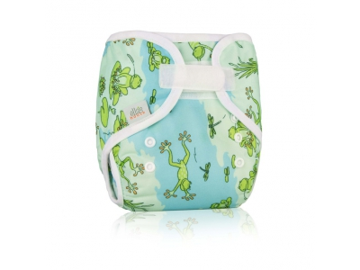 Ella´s House Bum Wrap svrchní kalhotky - Frogs