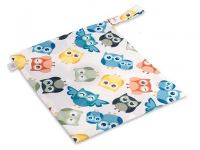 Ella´s House Wet bag pytel na pleny - Owl