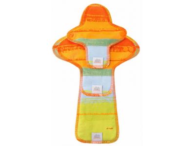 Ella´s House TRIAL SET Hygienické dámské vložky (3ks) - Jungle Orange